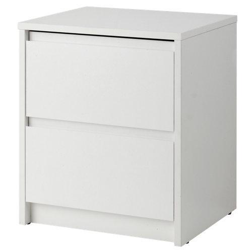Cajonera 2 cajones serie home blanco 48x40x34cm (altoxanchoxfondo cm)