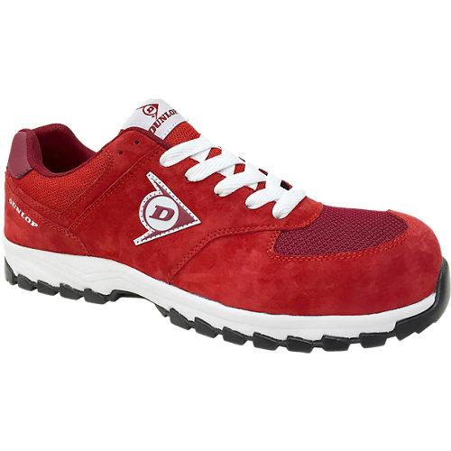 Zapatos de seguridad dunlop s3 s3 rojo t45