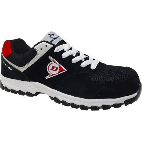 Zapatos de seguridad dunlop dl0201018-45 s3 negro t45