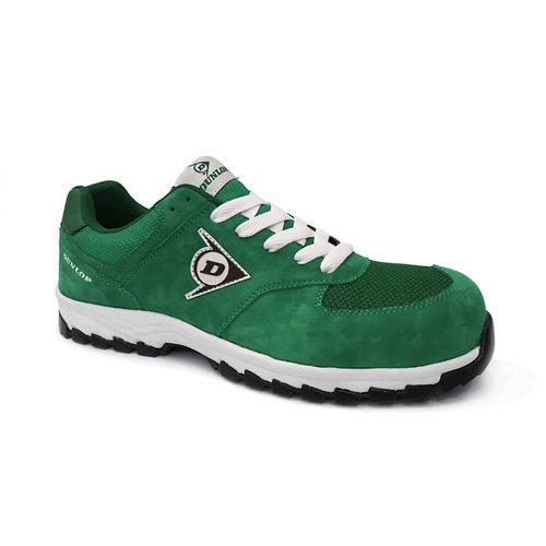 Zapatos de seguridad dunlop dl0201019-43 s3 verde t43