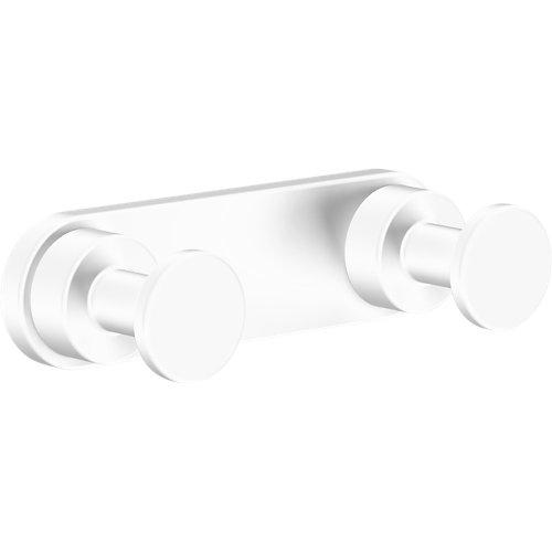 Percha de baño architecture blanco mate