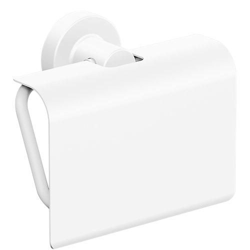 Portarrollos wc arquitecture blanco mate 13.6x11.4x6.2 cm