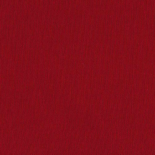 Tela en bobina roja algodón y poliéster ancho 280cm