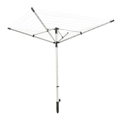 Tendedero de exterior de paraguas de 255x255 cm desplegado