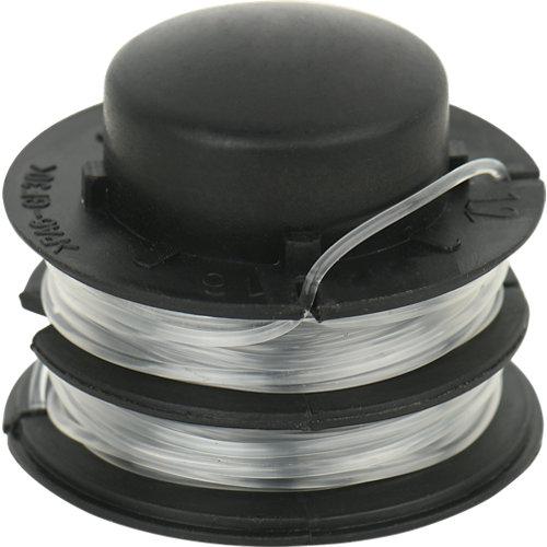 Pack de 2 bobinas para cortabordes yt5220-01 5 m 1.2 mm