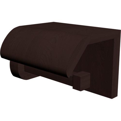 Portarollo wc amazonia marrón mate 13x10,5x12 cm