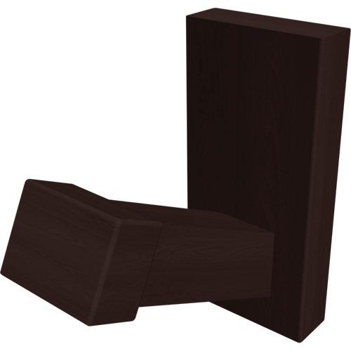 Percha de baño amazonia marrón mate