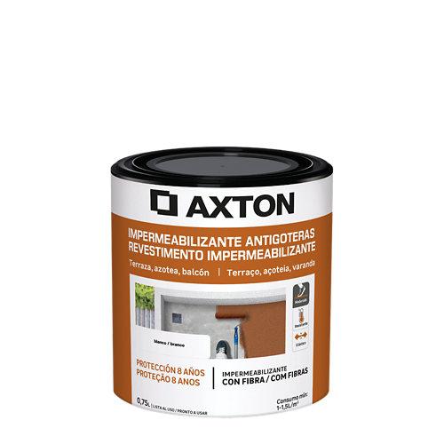 Pintura antigoteras axton 750ml blanco