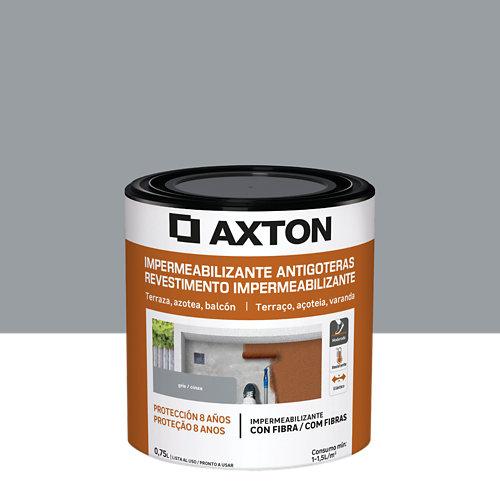 Pintura antigoteras axton 750ml gris