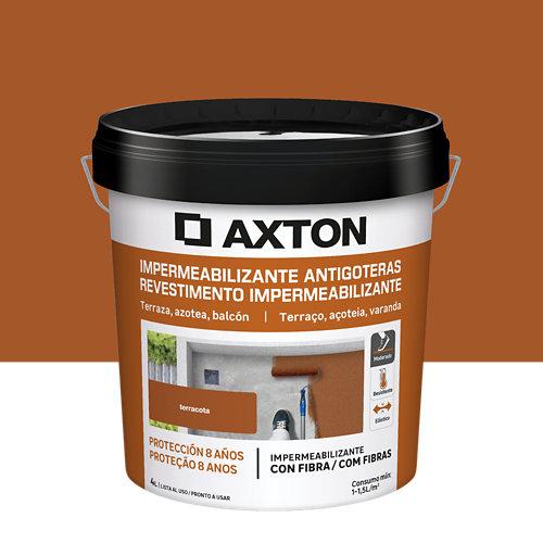Pintura antigoteras axton terracota 4l
