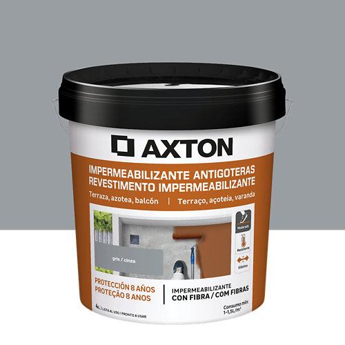 Pintura antigoteras axton gris 4l