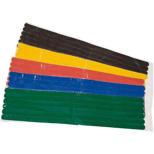 6 antideslizante rectangulares de plástico de 20x600 mm