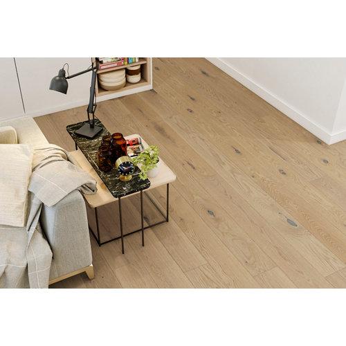 Suelo de madera galparket forte l roble blanco