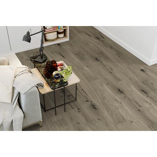 Suelo de madera galparket forte l gris oscuro