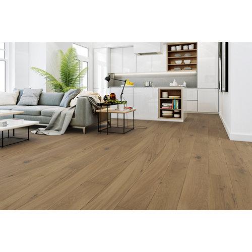 Suelo de madera galparket forte xl gris claro