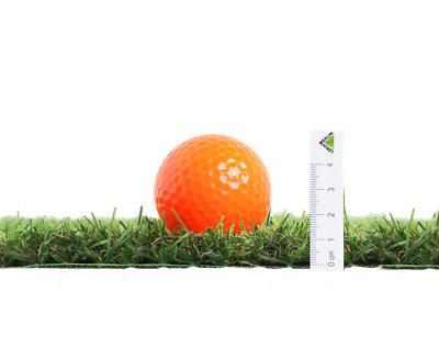 Rollo de césped artificial Zante NATERIAL 1x5 m y 20 mm de altura de fibras