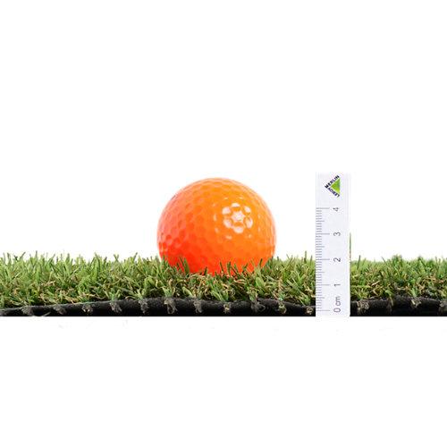 Rollo de césped artificial zante naterial 2x5 m y 20 mm de altura de fibras
