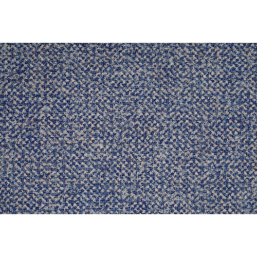 Tela en bobina azul poliéster ancho 140cm