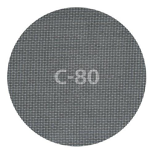5 disco abrasivo wolfcraft para amoladora recta 80