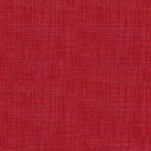 Tela en bobina roja poliéster ancho 300cm