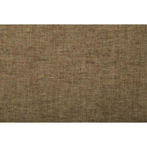 Tela en bobina marrón algodón y poliéster ancho 310cm