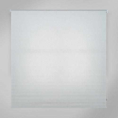 Estor enrollable translúcido viena blanco de 109x235cm