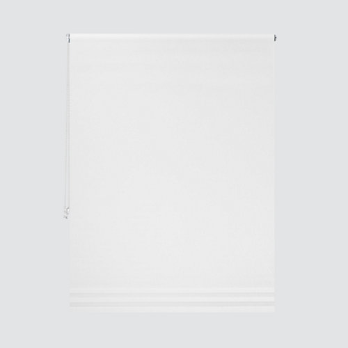 Estor enrollable translúcido opera blanco de 124x250cm