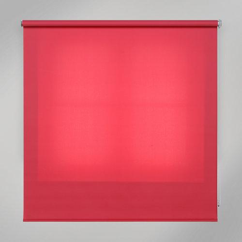 Estor enrollable translúcido trends granate rojo de 180x250cm