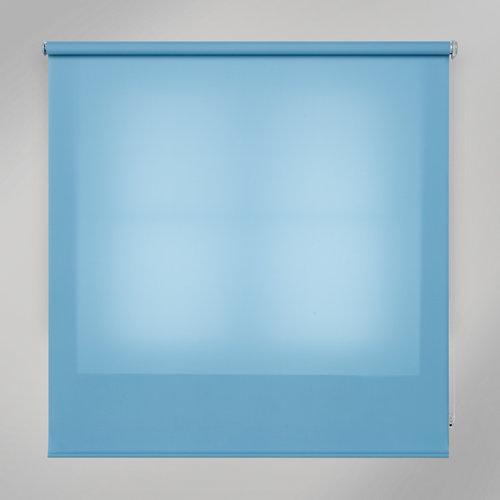 Estor enrollable translúcido trends azul de 180x250cm