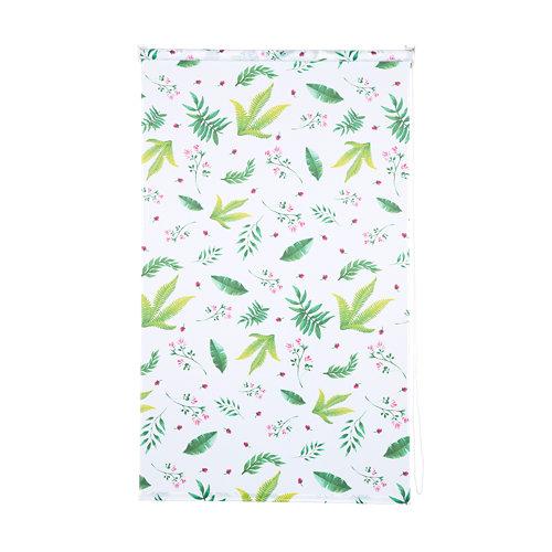 Estor enrollable print forest verde de 105x250cm