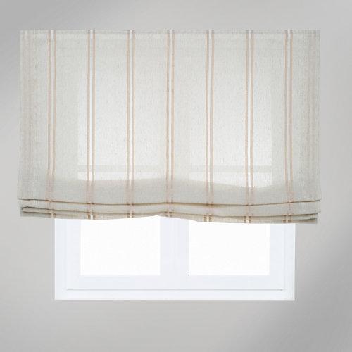 """""""Estor paquetto con diseño moderno de color beige. Fabricado en poliéster, ideal para suavizar la luz en la habitación. Medidas: 105 x 175 cm (ancho x alto)."""