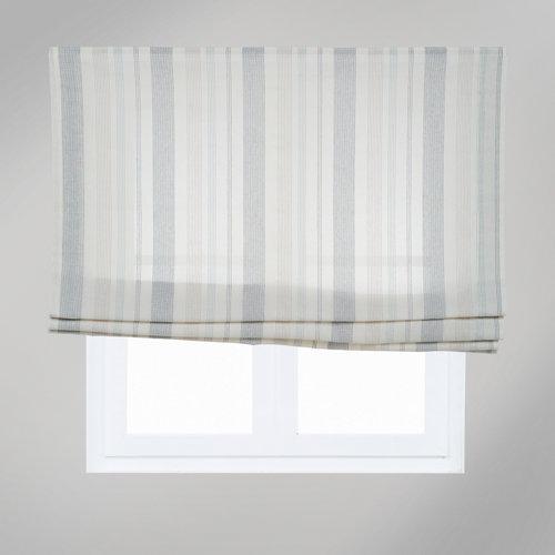 Estor plegable rayas palermo 75x175 cm