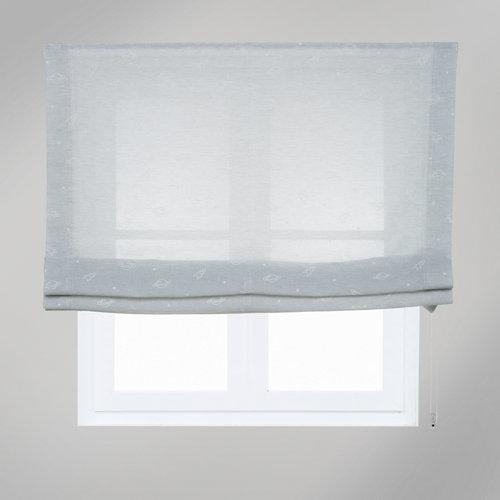 Estor plegable space gris 105x250 cm