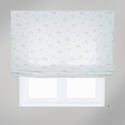 Estor plegable space blanco 90x175 cm