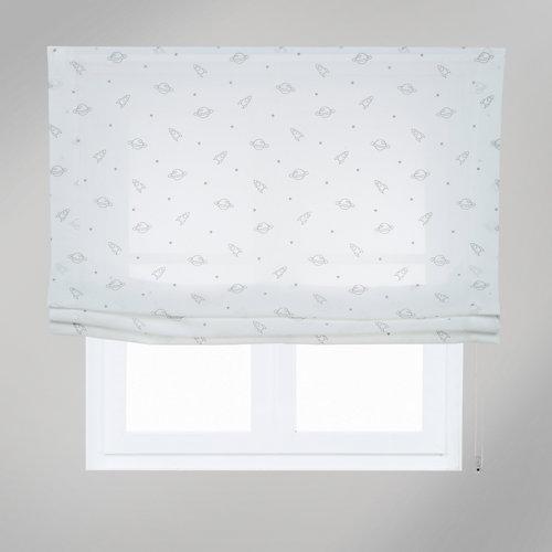Estor plegable space blanco 75x250 cm