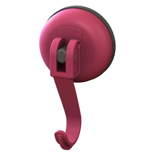 Percha de baño click easy rosa