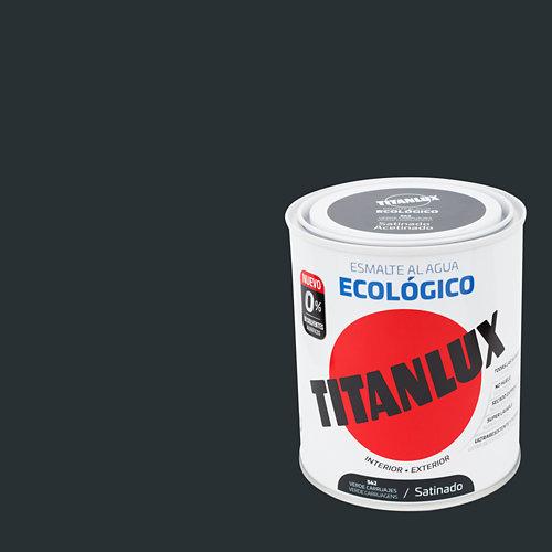 Esmalte al agua titanlux verde carruaje satinado 0,75l