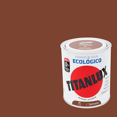 Esmalte al agua titanlux ocre satinado 0,75l