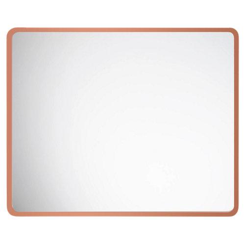 Espejo de baño vogue naranja / cobre 60 x 80 cm
