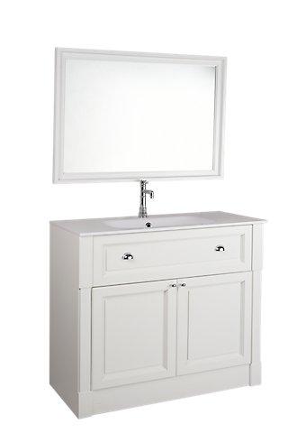 Mueble Baño Harmony Blanco Roto 80 X 45 Cm Leroy Merlin