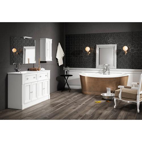 Mueble baño harmony blanco roto 120 x 45 cm