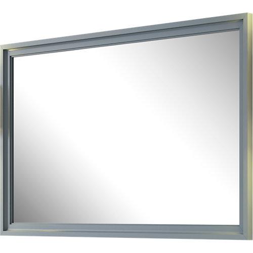 Espejo de baño harmony gris / plata 80 x 70 cm