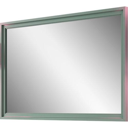 Espejo de baño harmony verde 80 x 70 cm