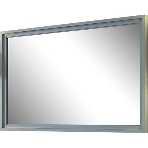 Espejo de baño harmony gris / plata 100 x 70 cm