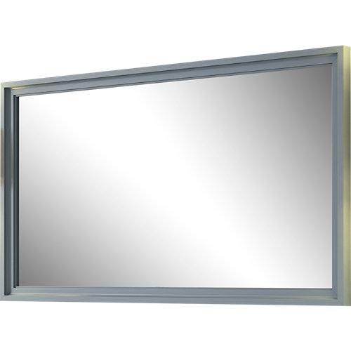 Espejo de baño harmony gris / plata 120 x 70 cm