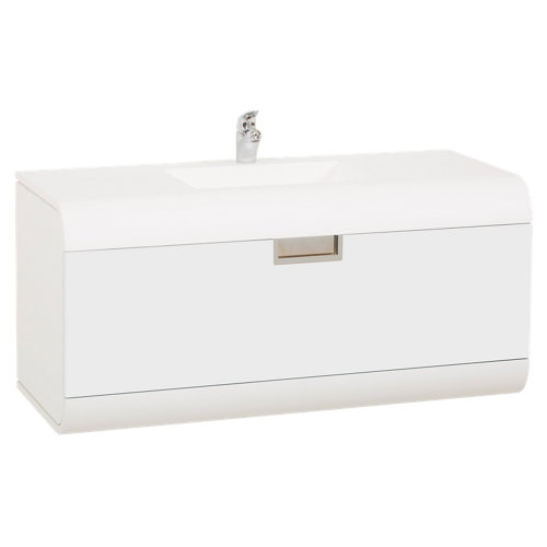 Mueble baño capsul blanco 80x50 cm