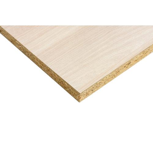 Tablero aglomerado de melamina acacia 122x244x1 cm (anchoxaltoxgrosor)