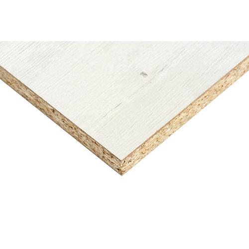 Tablero aglomerado de melamina roble dafne 122x244x1,6 cm (anchoxaltoxgrosor)