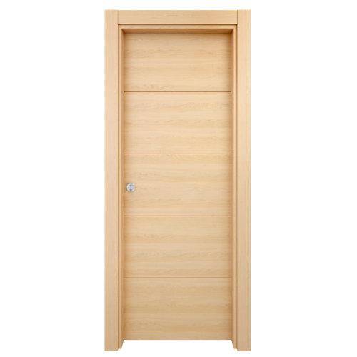 Puerta de interior corredera berna roble de 82.5 cm