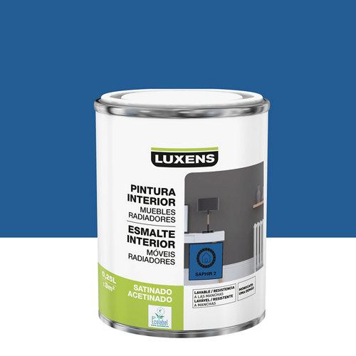 Esmalte de interior luxens saphir 2 satinado 0,25l